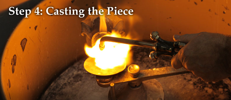Step 4: Casting the Piece